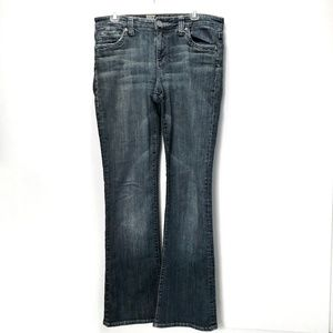 Kut from the Kloth Flare Jeans Light Wash 8 Tall